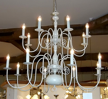 16-light chandelier