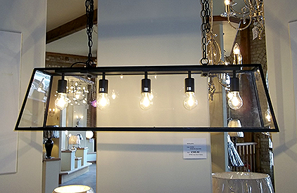 The Academy 5-light pendant