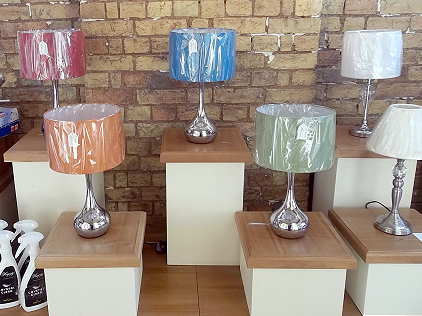 Colour fun table lamps