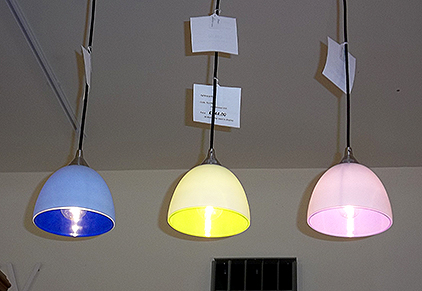 Drop pendant lights