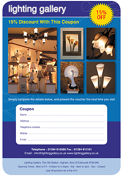 Lighting Gallery Discount Coupon
